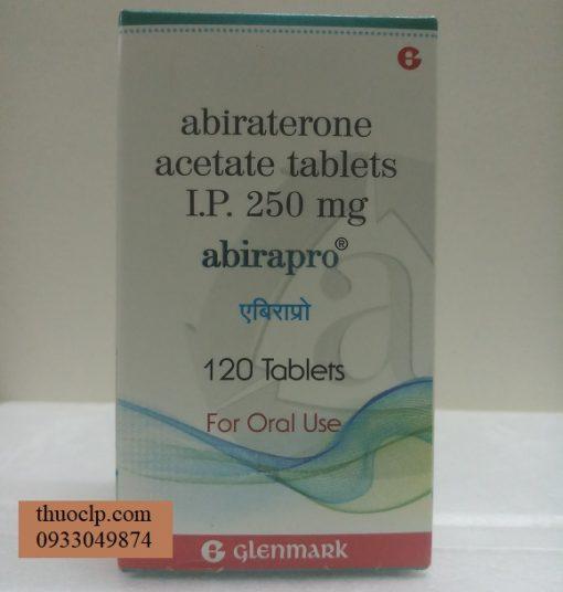 Thuoc Abirapro 250mg Abiraterone ung thu tien liet tuyen (1)