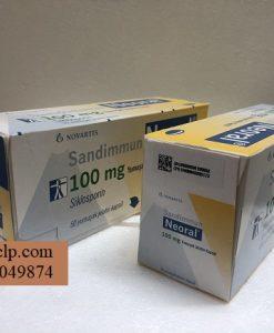 Thuoc Neoral 100mg Ciclosporin ngan ngua thai ghep tang (1)