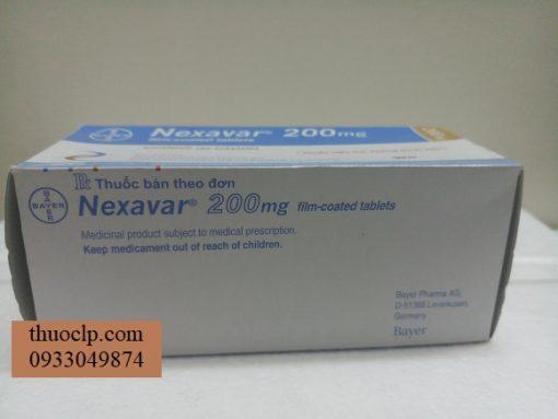 Thuoc Nexavar 200mg dieu tri ung thu gan than (2)