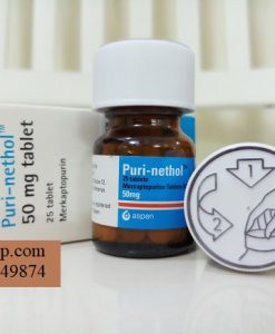 Thuoc PuriNethol 50mg Mercaptoprin chong ung thu (2)