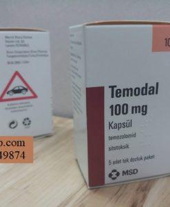 Thuoc Temodal 100mg Temozolomide dieu tri ung thu nao (5)