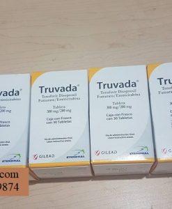 Thuoc Truvada Emtricitabine 200mg Tenofovir 245mg ngua phoi nhiem HIV (2)