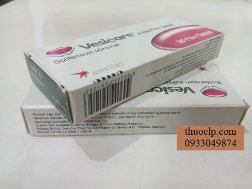 Thuoc Vesicare 5mg Solifenacin succinate dieu tri tieu khong tu chu (3)