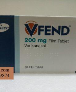 Thuoc Vfend 200 mg Voriconazole dieu tri nhiem trung do nam (1)