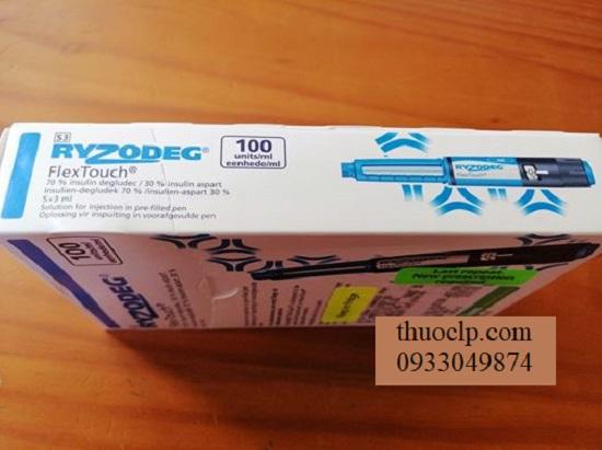 Thuoc Ryzodeg 100u ml Insulin dieu tri benh benh tieu duong (3)