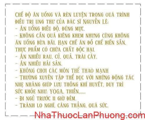 Ky Tich 10 nam vuot qua can benh ung thu cua bac si Nguyen Le (4)