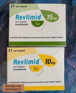 Thuoc Revlimid 10mg 15mg 20mg Lenalidomide dieu tri ung thu tuy xuong (2)
