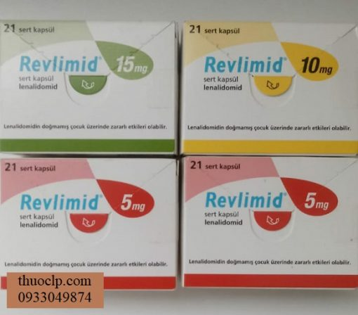 Thuoc Revlimid 10mg 15mg 20mg Lenalidomide dieu tri ung thu tuy xuong (3)
