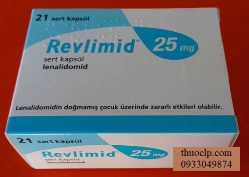 Thuoc Revlimid 10mg 15mg 20mg Lenalidomide dieu tri ung thu tuy xuong (5)