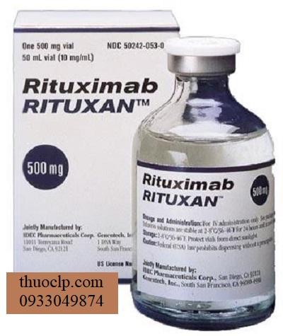 Thuoc Rituxan 100mg 500mg Rituximab dieu tri ung thu mau (1)