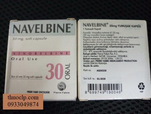 Thuoc Navelbine 30mg Vinorelbine dieu tri ung thu vu phoi 2