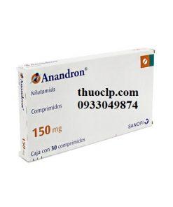 Thuốc Anandron 150mg Nilutamid điều trị ung thư tuyến tiền liệt (1)