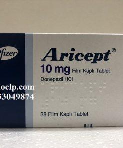 Thuốc Aricept 10mg Donepezil điều trị chứng mất trí do bệnh Alzheimer (1)