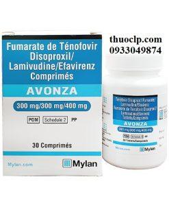 Thuốc Avonza điều trị nhiễm HIV (2)
