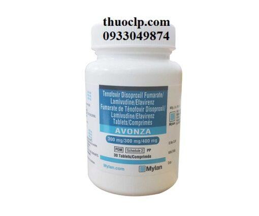 Thuốc Avonza điều trị nhiễm HIV (3)