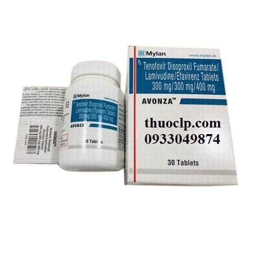 Thuốc Avonza điều trị nhiễm HIV (5)