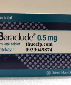 Thuốc Baraclude 0,5mg Entecavir điều trị viêm gan B (1)