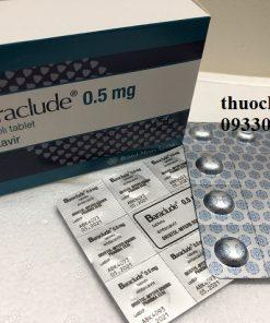 Thuốc Baraclude 0,5mg Entecavir điều trị viêm gan B (3)