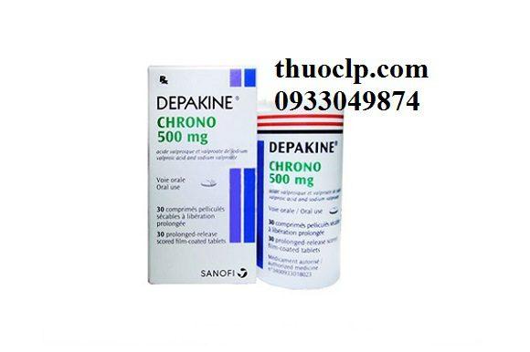 Thuốc Depakin chrono 500mg Valproic Acid chống động kinh (4)