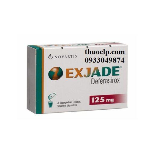 Thuốc Exjade 125mg, 250mg & 500mg Deferasirox điều trị quá tải sắt (2)