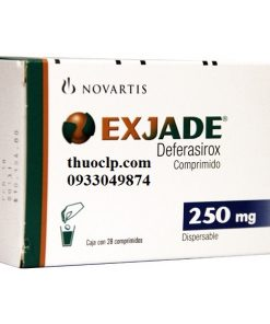 Thuốc Exjade 125mg, 250mg & 500mg Deferasirox điều trị quá tải sắt (3)