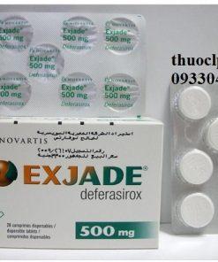 Thuốc Exjade 125mg, 250mg & 500mg Deferasirox điều trị quá tải sắt (4)