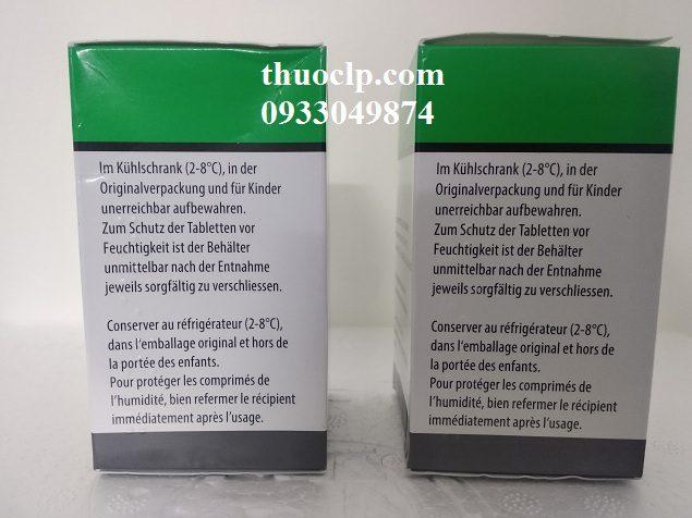 Thuốc Florinef 0.1mg Fludrocortison acetate điều trị suy vỏ thượng thận (3)