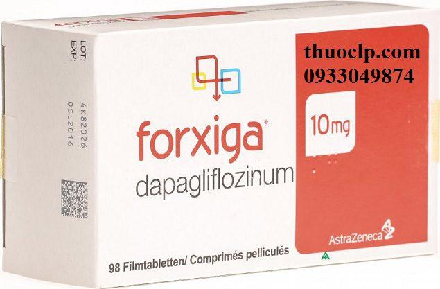 Thuốc Forxiga 10mg Dapagliflozin điều trị đái tháo đường (3)
