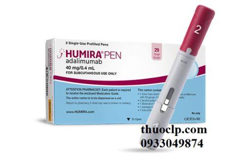 Thuốc Humira 40mg/0.4ml Adalimumab giảm viêm (5)