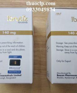 Thuốc Ibrutix 140mg Ibrutinib điều trị các bệnh bạch cầu mãn tính dòng lympho, u tế bào vỏ (2)