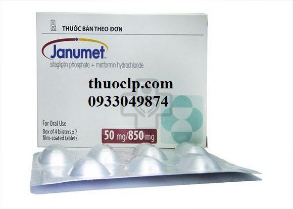 Thuốc Janumet 50/850mg Metformin và Sitagliptin điều trị bệnh đái tháo đường (3)