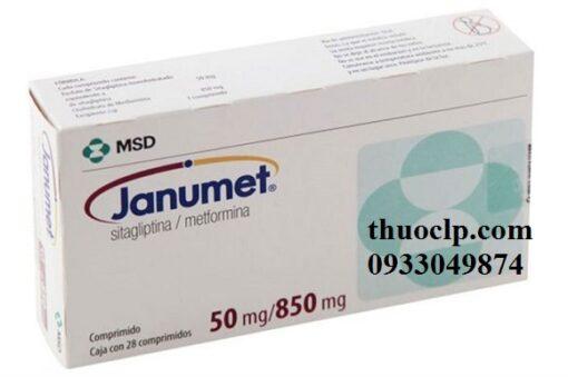 Thuốc Janumet 50/850mg Metformin và Sitagliptin điều trị bệnh đái tháo đường (4)