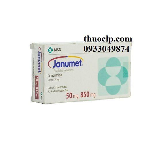 Thuốc Janumet 50/850mg Metformin và Sitagliptin điều trị bệnh đái tháo đường (5)