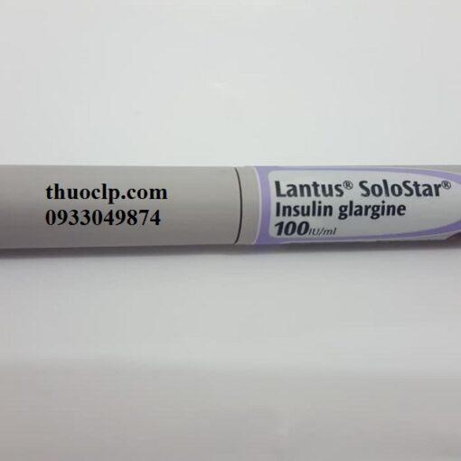 Thuốc Lantus solostar 100IU/ml Insulin Glargine điều trị đái tháo đường (2)