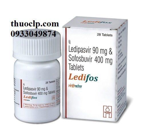 Thuốc Ledifos 90mg/400mg Ledipasvir và Sofosbuvir điều trị viêm gan C (4)
