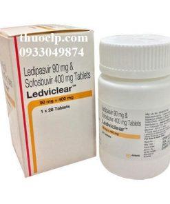 Thuốc Ledviclear 90mg/400mg Ledipasvir và Sofosbuvir điều trị viêm gan C (3)