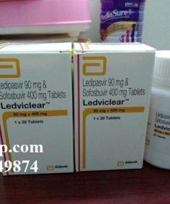 Thuốc Ledviclear 90mg/400mg Ledipasvir và Sofosbuvir điều trị viêm gan C (4)