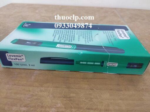 Thuốc Levemir 100U/ml Insulin detemir điều trị bệnh tiểu đường (1)