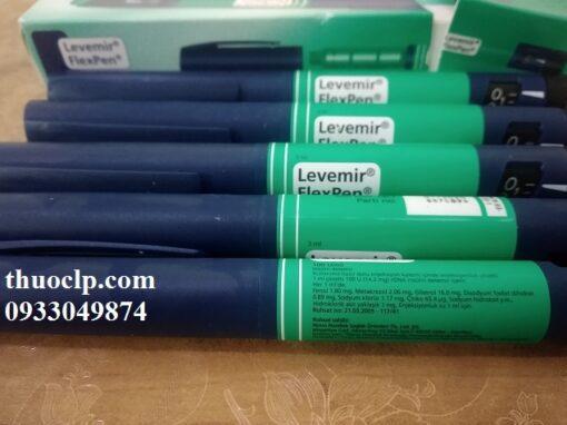 Thuốc Levemir 100U/ml Insulin detemir điều trị bệnh tiểu đường (3)