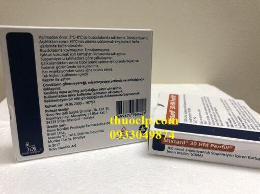 Thuốc Mixtard 30 Insulin human (rDNA) điều trị bệnh tiểu đường (4)