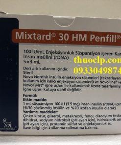 Thuốc Mixtard 30 Insulin human (rDNA) điều trị bệnh tiểu đường (5)