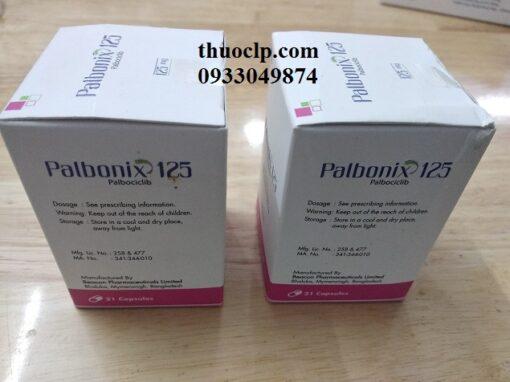 Thuốc Palbonix 125mg Palbociclib điều trị ung thư vú tiến triển và di căn (3)
