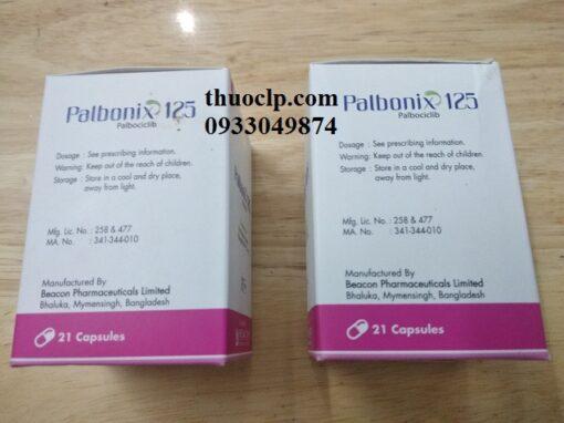 Thuốc Palbonix 125mg Palbociclib điều trị ung thư vú tiến triển và di căn (5)