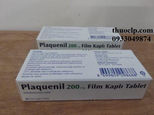 Thuốc Plaquenil 200mg Hydroxychloroquine điều trị hoặc ngăn ngừa bệnh sốt rét (3)