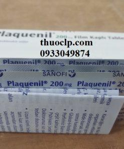 Thuốc Plaquenil 200mg Hydroxychloroquine điều trị hoặc ngăn ngừa bệnh sốt rét (5)