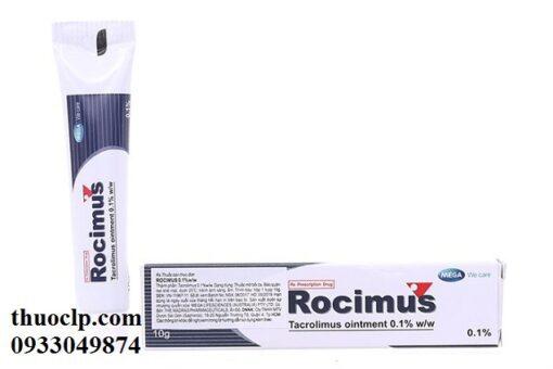 Thuốc Rocimus 10g Tacrolimus điều trị bệnh chàm thể tạng (5)