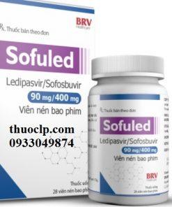 Thuốc Sofuled điều trị viêm gan C (1)