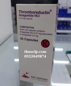 Thuốc Thromboreductin 0,5mg Anagrelide HCL điều trị tăng tiểu cầu (1)