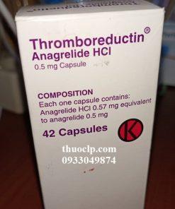 Thuốc Thromboreductin 0,5mg Anagrelide HCL điều trị tăng tiểu cầu (3)