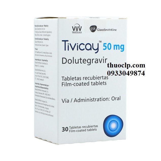 Thuốc Tivicay 50mg Dolutegravir điều trị nhiễm HIV (3)